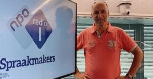 Nico van Dijk te gast in het NPO1-programma Spraakmakers om te praten over de stand van zaken in de cruisesctor. © Redactie Spraakmakers